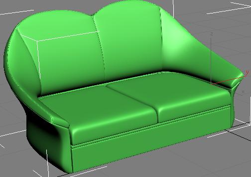 получившийся диван