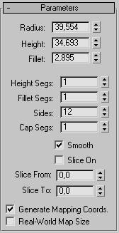 свиток Parameters