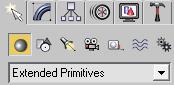 выбираем Extended Primitives