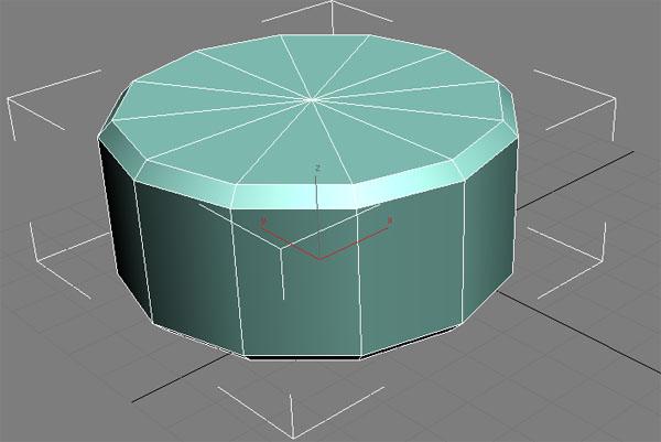 Крышка стола с ребрами