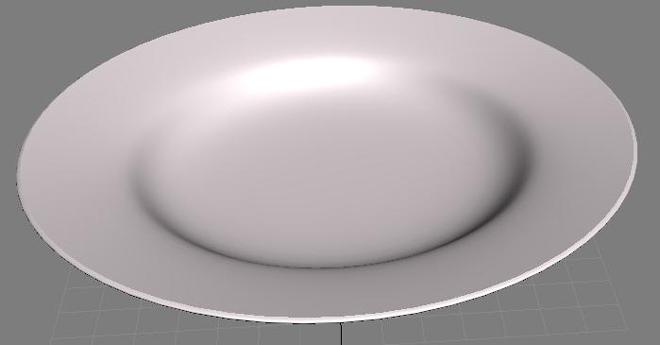 попробуйте создать тарелку