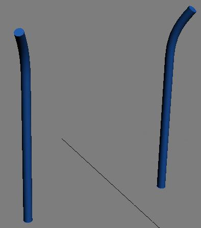 2 передних ножки стула