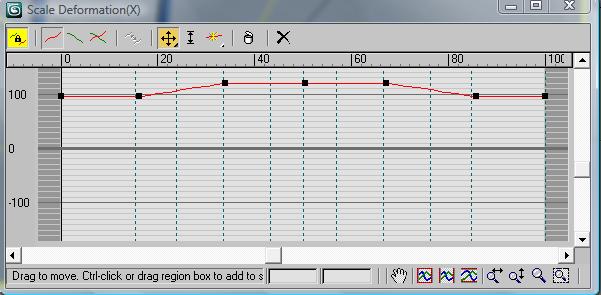 Добавьте еще несколько точек и измените график как на рисунке