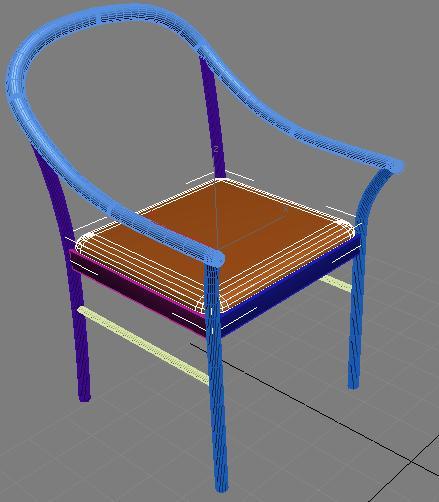 Ну и разместите сиденье на свое место: