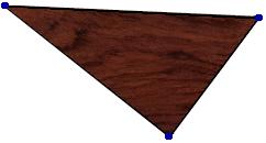 каждый треугольник имеет возможность разместить внутри себя некоторый кусок изображения