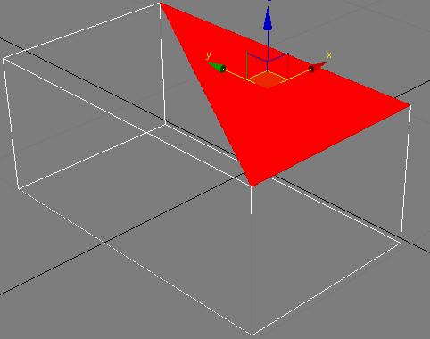 позволяет редактировать отдельные треугольники