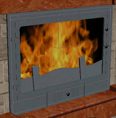 текстура огня